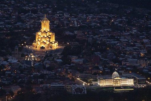Tbilisi, Christian, Church, Georgia, Cathedral