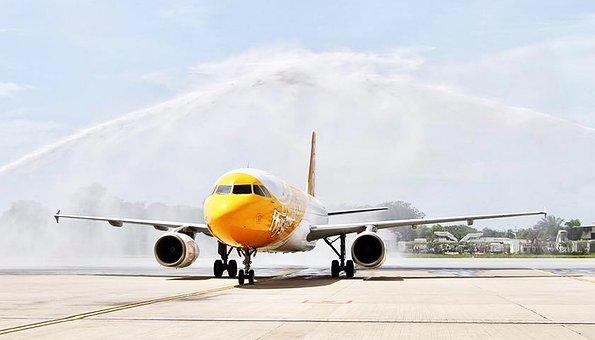 Airplane, Flight, Airport, Plane
