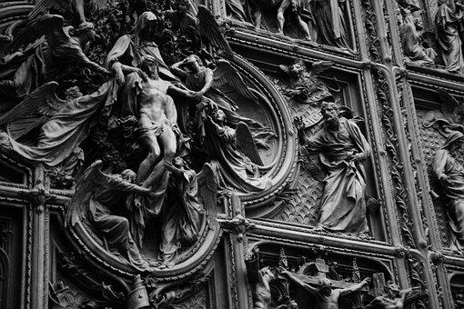 Duomo Di Milano, Milano, Italia, Italy, City, Tourism