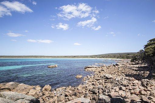 Holidays, Eagle Bay, Travel, Beach, Rocky, Wide Angle
