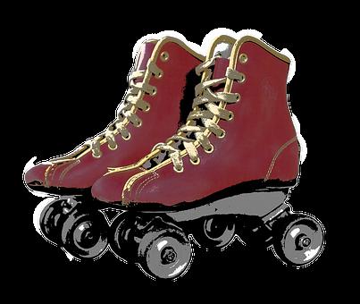 Retro, Roller Skates, Roller, Skating, Sport, Skate