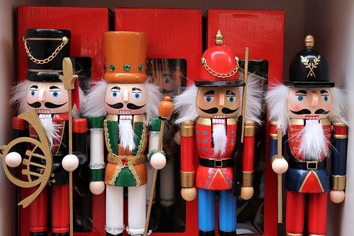 Nusskracker Figures, Nutcracker, Toy, Soldier, Guardian