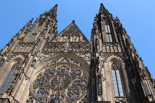 Church, The Cathedral, Prague, Christianity, The Gothic