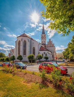 Levoča, Levoca, Slovakia, The Sky, History, Blue