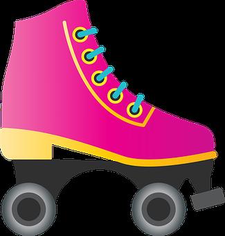 Roller Skate, Eighties, Skater, Roller Derby, Vintage