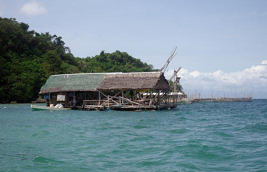 Floating Restaurant, Sea, Water, Float, Bar, Restaurant
