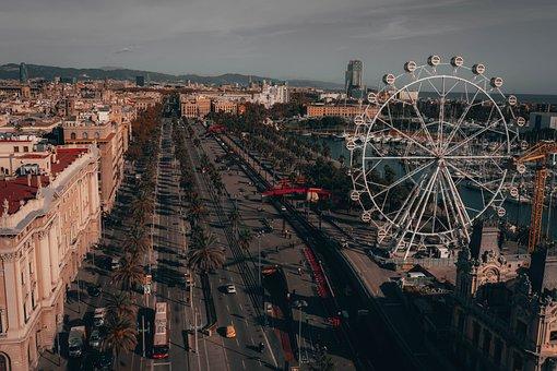 Barcelona, Spain, Architecture, Cityscape