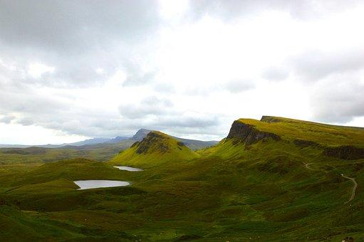 Hiking, Landscape, Green, Moss, Lake, Nature, Adventure