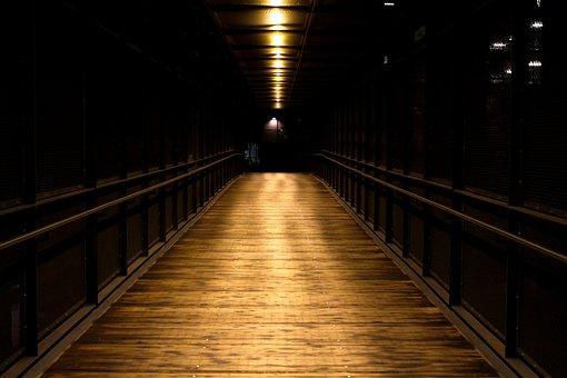 Dark, Alley, Downtown, Alone, Road