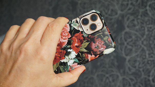 Apple Iphone 11 Pro, Mobile Phone, Hand, Human, Woman