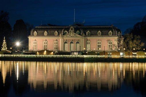 Castle, Castle Benrath, Castle Düsseldorf, Baroque