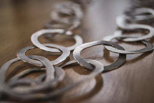 Chain, Jewellery, Rings, Depth Of Field, Connection