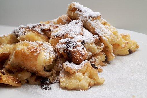 Kaiserschmarrn, Dessert, Sweet Dish, Austria