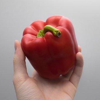 Paprika, Vegetables, Cook, Food, Healthy, Eat, Red
