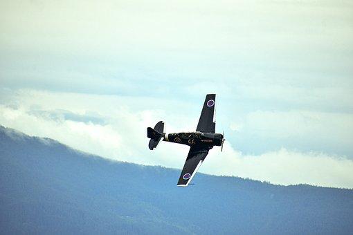 Fighter Plane, Ww2, Av, Fighter