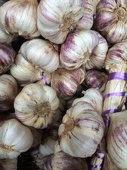 Garlic, Garlic Bulb, Bulb, Food, Vegetable, Fresh