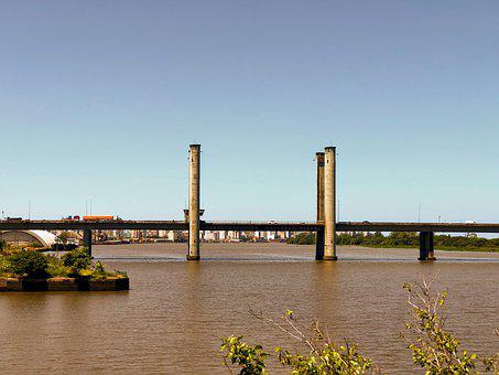 Bridge, Rio, Guaíba, Porto Alegre