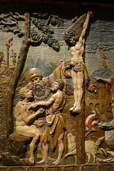 Art, Museum, Image, Historically, Relief, Wood, Bible