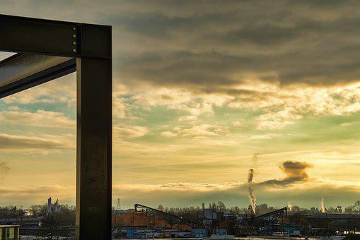 Cityscape, Landscape, Sky, Sunrise