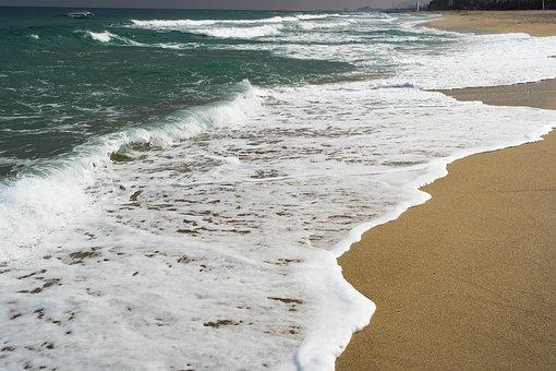 Wave, Sea, Water Wave, Ruffle, Surge, Pulse
