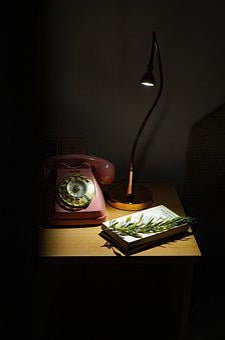 San Jordi, Reading, Table, Night, Lamp, House, Light