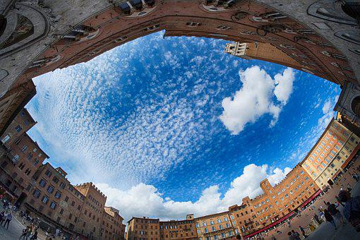 Square Of The Field, Siena, Tuscany, Palio