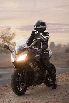 Engine, Motorcycle, Kawasaki, Ninja, Speed, Vehicle