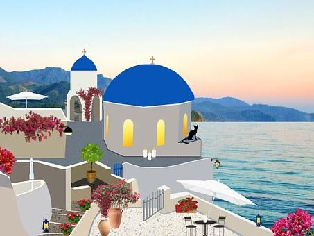 Santorini, Greece, Architecture