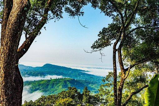 Bangladesh, Nature, Sajek, Sky