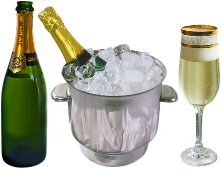 Champagne, Wine, Alcohol, Drink, Bottle, Toast
