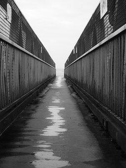 Bridge, Black And White, Infinite