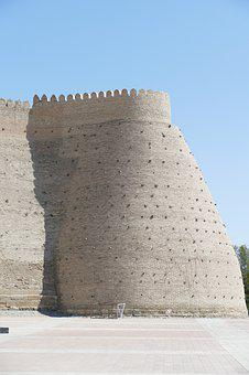 Bukhara, Fortress, Ark, City Wall, Tower, Uzbekistan