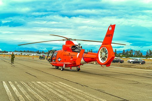 Coast Guard, Helicopter, Aviation, Chopper, Military