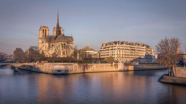 Notredame, Paris, France, Architecture, City, Travel