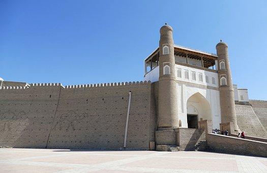 Bukhara, Fortress, Ark, City Wall, City Gate