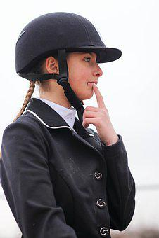 Girl, Sport, Horses, Race, Teenagers, Costume, Riding