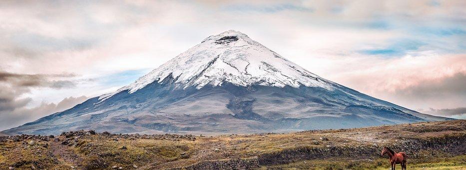 Volcano, Cotopaxi, Ecuador, Mountain