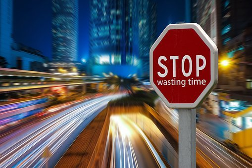 Stop Sign, Stop, Time, Waste, A Waste Of Time, Dates