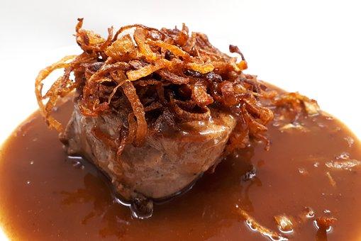 Fillet, Pork Tenderloin, Onions