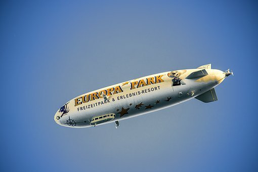 Zeppelin, Airship, Float, Aviation, Aircraft