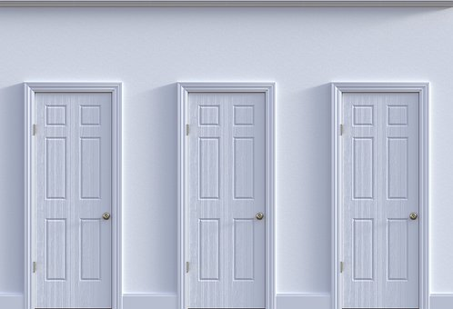 Doors, Choice, Decision, Opportunity, Future, Decide