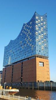 Hamburg, City, Architecture, Germany, Building