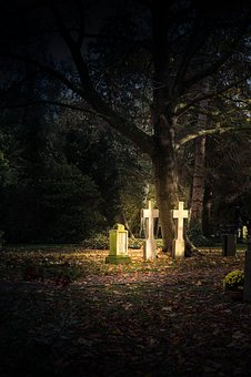Cemetery, Cross, Grave, Tombstone, Mourning, Tomb