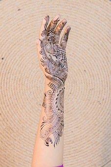 Henna, Bride, Wedding, Culture, Fashion, Marriage