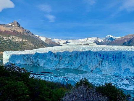 Ice, Glacier, Nature, Cold, Landscape, Sky, Thaw