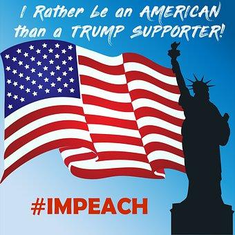 Impeach Trump, Anti Trump, Hashtag Impeach