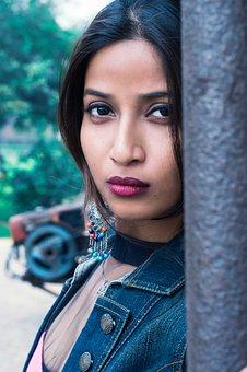 Female, Model, Fashion, Portrait, Indian