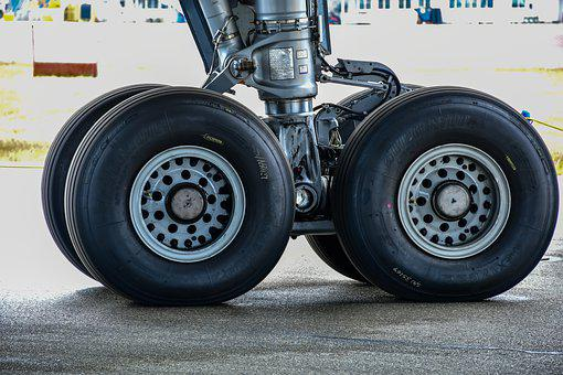 Plane Tire, Maintenance, Airliner, Tires, Terminal