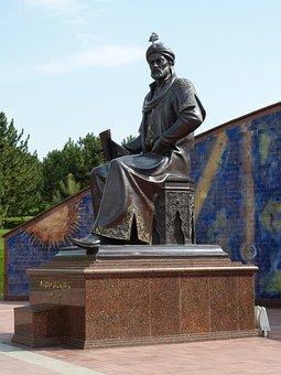 Samarkand, Uzbekistan, Central Asia, Monument