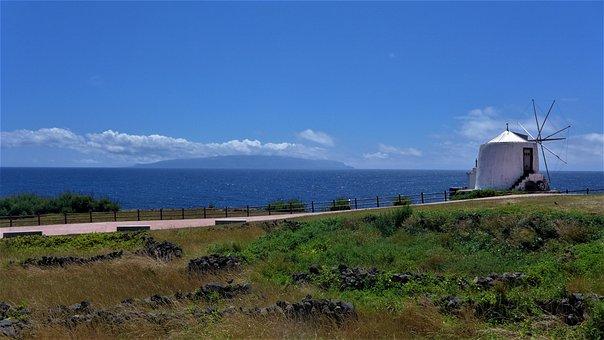 Azores, Island, Landscape, Nature, Ocean, Tourism